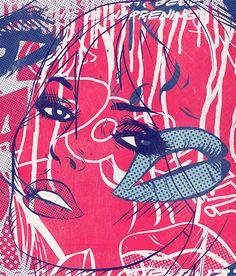 Untitled 08 series by Sebastian Bentler, via Behance