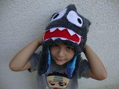 Happy monster boy hat