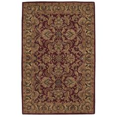 Astoria Grand Barrick Red Area Rug Rug Size: