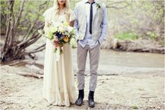 Modest lace round neck gown.  The Adventures of Tom Sawyer Wedding Inspiration by Stephanie Sunderland Photography  Photography: Stephanie Sunderland Photography (based out Lehi, Utah) Florist: Blossom Sweet