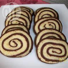 Foto da receita: Biscoito bicolor