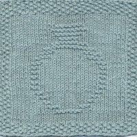 Wedding Ring Knit Dishcloth Pattern