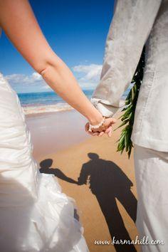 Beach wedding ideas, beach wedding photography, Maui wedding ideas