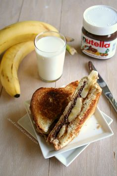 Grilled Chocolate Peanut Butter Sandwich   Jen's Favorite Cookies