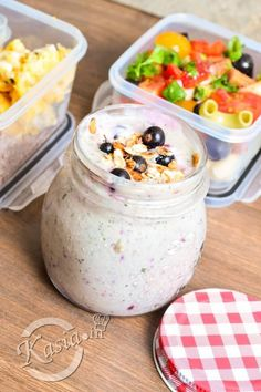 LunchBox - przepisy na cały tydzień I - Kasia. Healthy Snacks, Healthy Recipes, Food Design, Meal Prep, Catering, Clean Eating, Lunch Box, Food And Drink, Health Fitness
