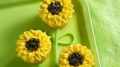 Sunflower Cupcakes for Claire