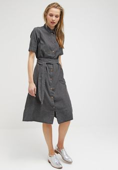 Selected Femme SFTANNI - Dress - dark grey melange for £70.00 (19/01/16) with free delivery at Zalando