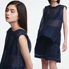 Elegance in stripes design from #nudemadebysuoi #designoftheday #wiw #ootd #designer #fashion