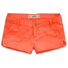 Hollister Co Hollister Low Rise Short Shorts ($30) ❤ liked on Polyvore