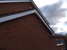 Before and after photos of the fascia soffit and guttering job in Wolverhampton fitted by upvc houselift.#fascia  #fasciasoffitgutterig  #upvcfascia  #upvc  #upvcwindows  #upvcdoors  #wolverhampton  #rubberroofs  #guttering  #conservatories  #cannock  #soffits