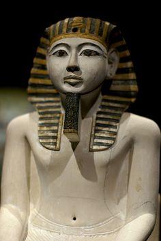 Kultstatue Amenophis I. (cult statue Amenhotep I.)