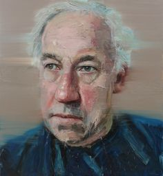 Colin Davidson. Painting of Simon Callow