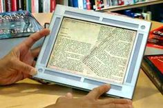 "article, ""survey finds increase in e-reading, drop in reading overall"""
