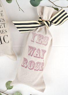 DIY Cheeky WIne Bag | Boxwood Avenue + Darby Smart