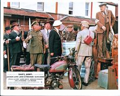 Full Set of 1971 Dads Army Film Lobby Cards, as displayed at the front of Cinemas. Description from devonautographs.com. I searched for this on bing.com/images Dad's Army, Home Guard, Bbc Tv Series, Comedy Tv, National Treasure, World War Ii, Wwii, Dads, Full Set