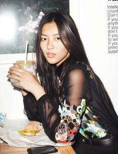 Liu Wen takes on some of the season's most colorful and pattern-filled looks for the October edition of Numéro China.