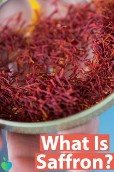 Learn everything you need to know about #saffron.