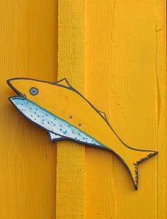 Yellow Fish by SA_Steve via Flickr