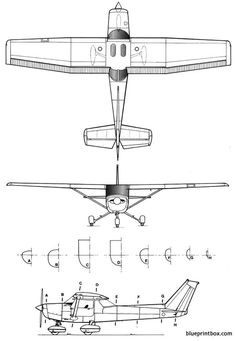 The cessna 152 is one of the model airplane plans available for download and printing.