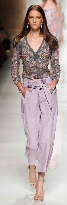 Etro Spring 2014. Nice collection!