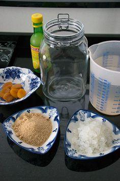 Waterkefir benodigdheden, wat heb je nodig om zelf waterkefir te maken ? Hoe waterkefir bereiden ?