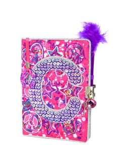 Sequin Swirl Initial Diary | Journals & Writing | Beauty, Room & Tech | Shop Justice