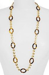 Lauren Ralph Lauren Long Oval Link Necklace