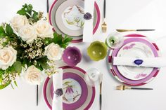 4 Perfectly Pink Dining Room Delights || Blooming Blooms