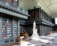 The Codrington Library, All Souls College - Oxford, England