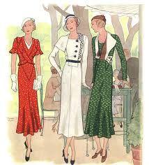 1930 fashion -