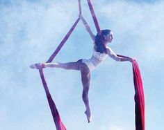 I can't wait for the next Aerial PlayDate!.... Aerialist Katia Sereno