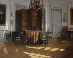 Patrick William Adam (British, 1854-1929), Drawing Room, Hyndford, North Berwick #interior