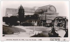 Crystal Palace in 1900