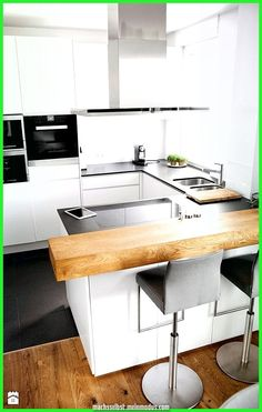 Modern Kitchen Cabinets Ideas For More Inspiration Dish - . Modern Kitchen Cabinets Ideas for More Inspiration Dish - . - - # for Wing chair Modern Kitche. Modern Kitchen Cabinets, Modern Kitchen Design, Kitchen Layout, Rustic Kitchen, Interior Design Kitchen, New Kitchen, Kitchen Decor, Kitchen Ideas, Kitchen Inspiration