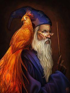 Albus Dumbledore by daPatches