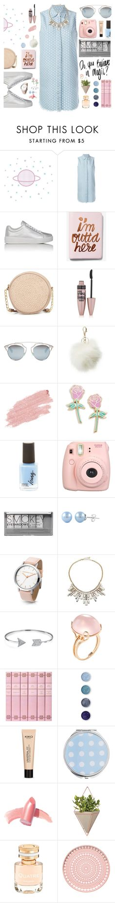 """""""Do You Believe in Magic?"""" by jafashions ❤ liked on Polyvore featuring Current/Elliott, Prada Sport, Express, Neiman Marcus, Maybelline, Christian Dior, Charlotte Russe, Jane Iredale, Big Bud Press and Fujifilm"""