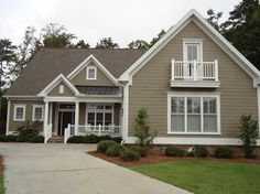 James Hardie Siding traditional exterior, color of hardie?