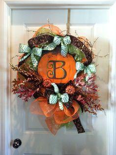 Fall DIY wreath! Thanks Faith Canvases!
