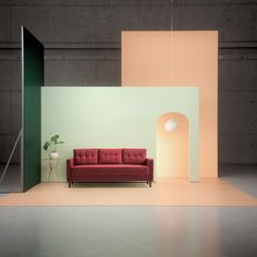 Nonoto Lounge At The Salone Del Mobile Yellow