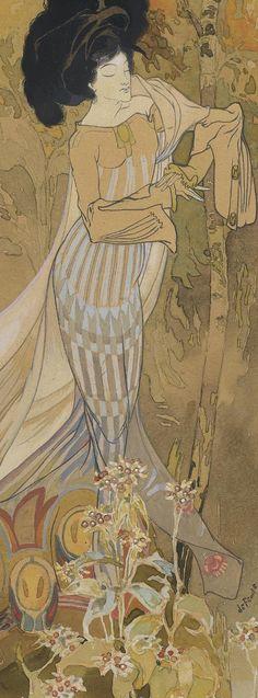 Georges de Feure Detail