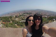 A vista panorâmica incrível do Bunker del Carmel, Barcelona