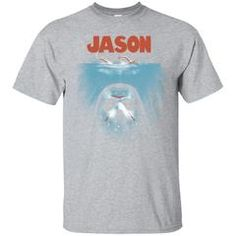 1d3feebb Friday the 13th Jason Vorhees Jaws Shirts Below the Lake T-shirts Hoodies  Sweatshirts Thứ