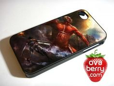 Attack on Titan Anime iPhone and Samsung Galaxy Phone Case