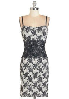 Fleur the Record Dress | Mod Retro Vintage Dresses | ModCloth.com