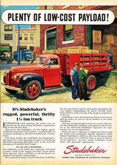 1946 Studebaker 1-1/2 Ton Stake Truck