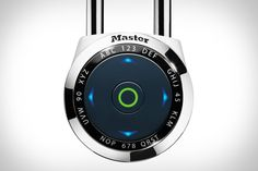 he Master Lock DialSpeed Padlock uses an electronic directional interface in lieu of a traditional combination wheel, letting you program multiple personalized codes and access a permanent backup master code should you ever forget yours