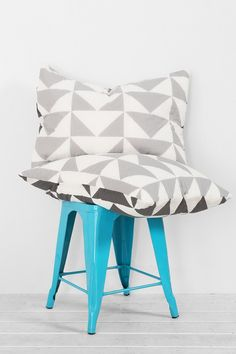 Assembly Home Stacked Triangle Sham - Set Of 2