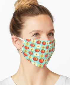 I love designing for Redbubble as they have a fabulous array of products. Their facemasks are so soft and easy to wear. Just check the sizing is right for you. Sugar Skull Face, Skull Face Mask, Face Masks, Sugar Skulls, Jw Gifts, Gifts For Her, Dinosaur Silhouette, Design Mandala, Unicorn Pattern