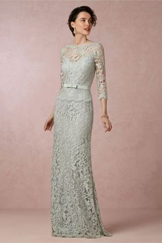 Clarisse Dress from BHLDN - mother of the bride/groom dress Mother Of Groom Dresses, Bride Groom Dress, Bride Gowns, Mothers Dresses, Elegant Dresses, Pretty Dresses, Beautiful Dresses, Formal Dresses, Lace Bridesmaid Dresses