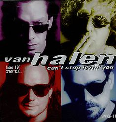 """For Sale - Van Halen Can't Stop Loving You Japan Promo CD single (CD5 / 5"""") - See this and 250,000 other rare & vintage vinyl records, singles, LPs & CDs at http://eil.com"""